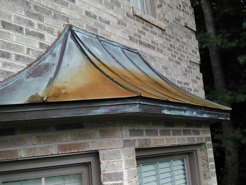 Copper Awning Residential Window Cleaning Resource