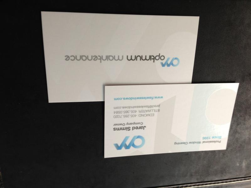 Post your business card up here - Conversation - Window Cleaning ...