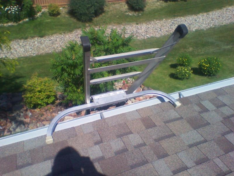 Ladder Roof Stabilizer Amp Roof Zone 48586 Aluminum Corner
