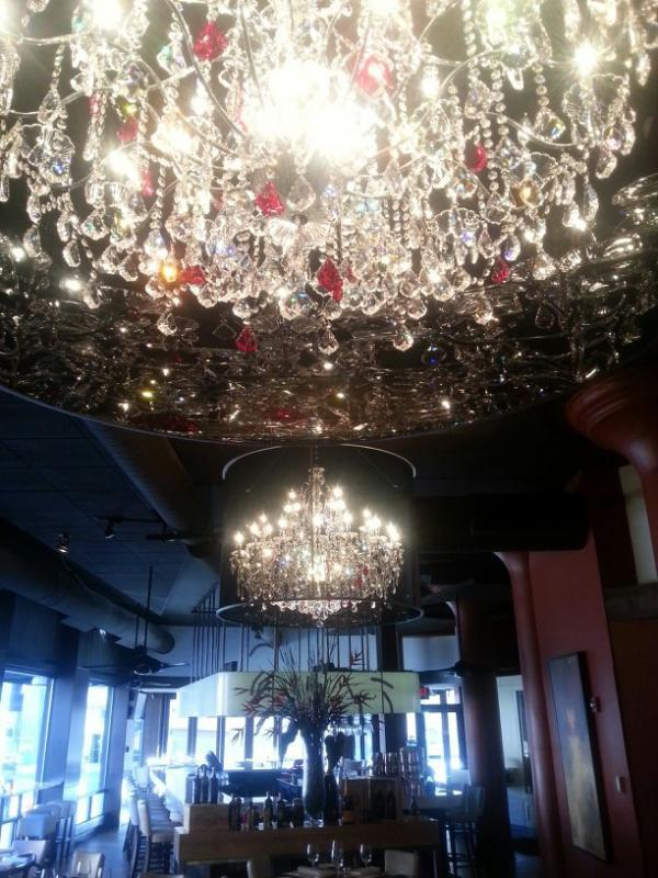 Chandelier Cleaning Project For The Cameron Mitchell