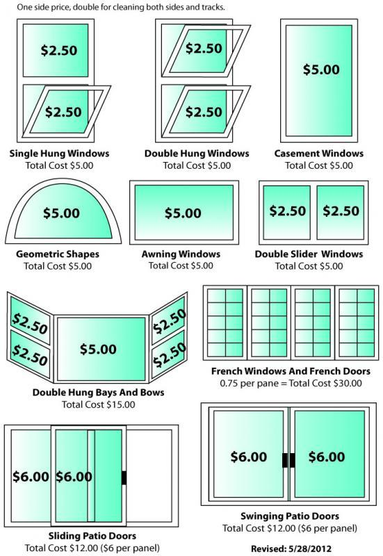 PricingQuote Template  Residential  Window Cleaning Resource