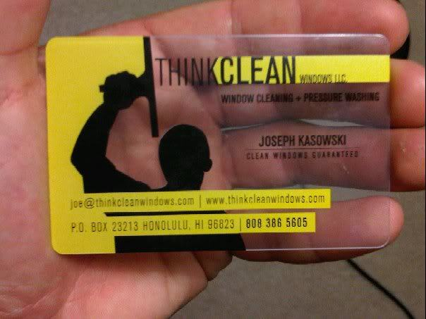 Your business card is dog turd videos window cleaning resource so i had a booth at a military round robin yesterday i was at the warriors in transition success booth i was handing out my cards and got the same reheart Image collections
