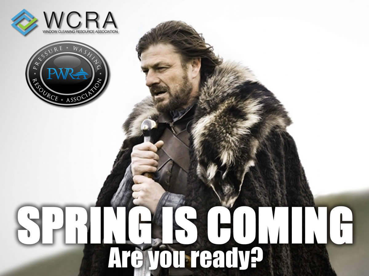 Spring Is Coming Marketing Window Cleaning Resource Community