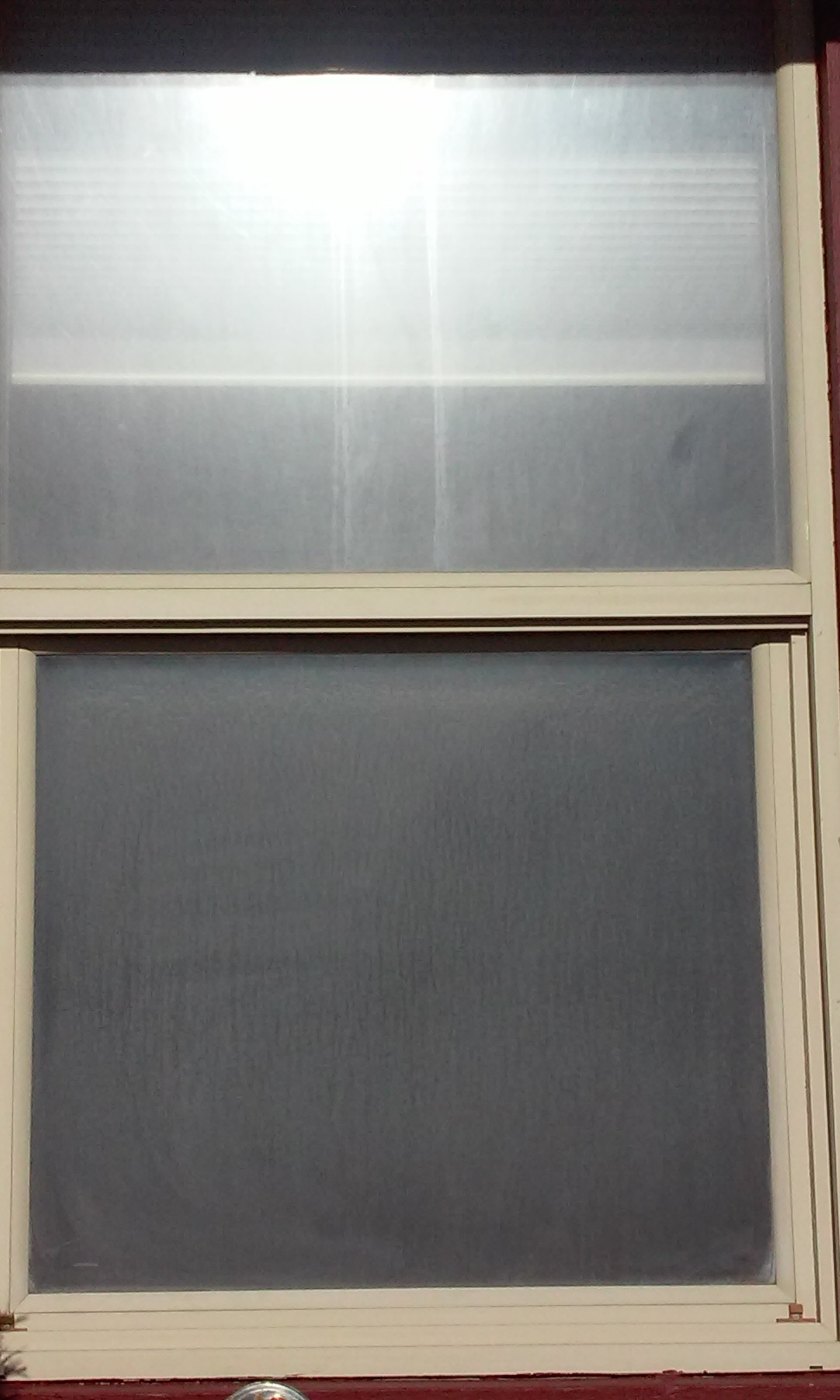 how to clean outside windows water stains