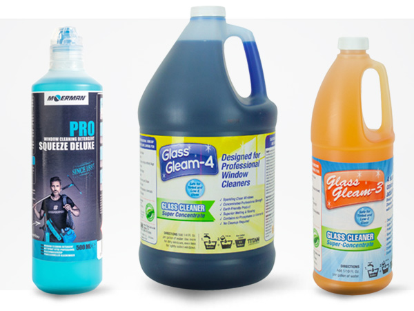 Window Cleaning Soaps And Chemicals