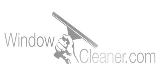 Window Cleaner Grey Gradient Logo
