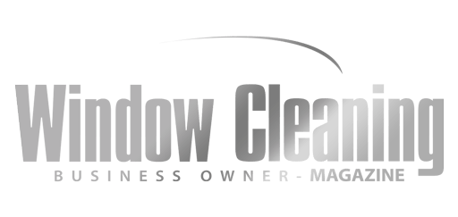 Window Cleaning Business-Owner Grey Gradient Logo